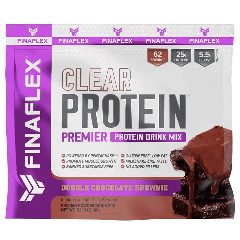 FINAFLEX Clear Protein 5.1 Lb Double Chocolate brownie