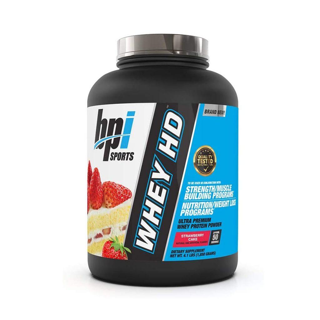 BPI Sports Whey HD Strawberry Cake