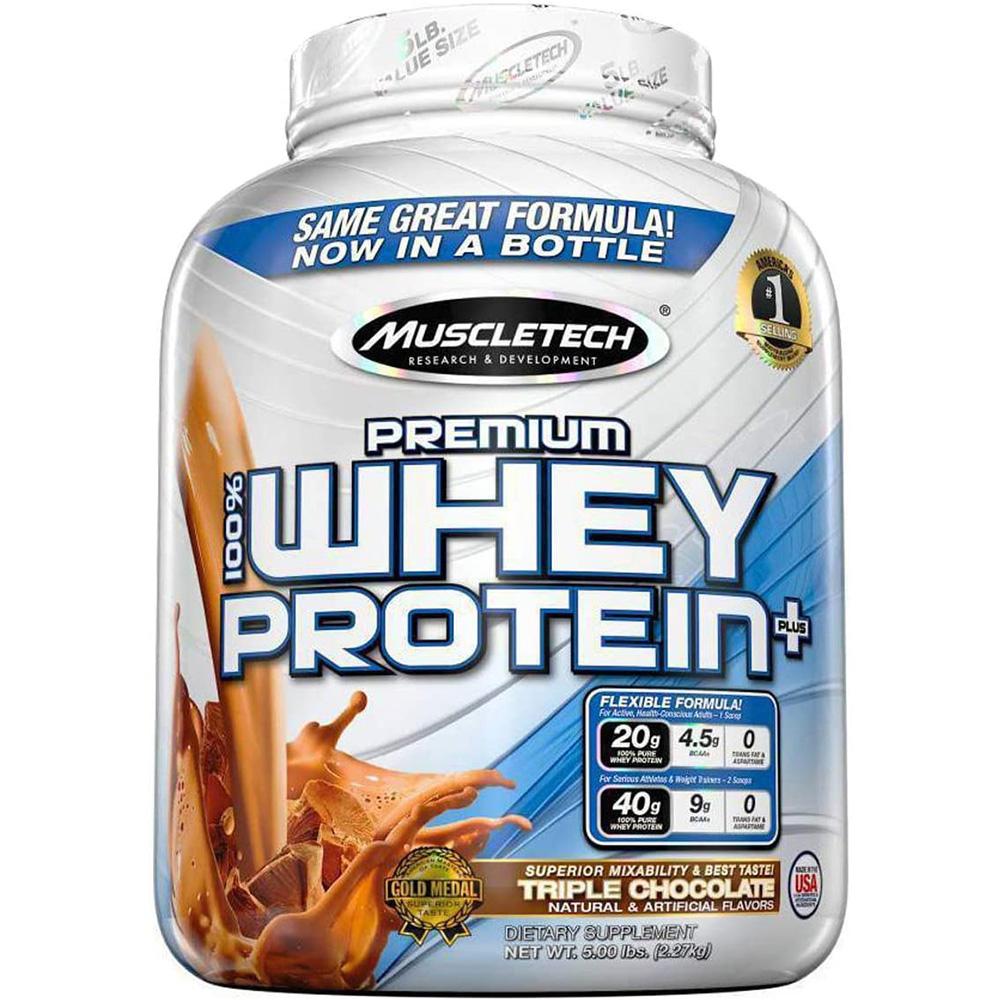 Muscletech Premium 100% Whey 5 lbs Triple Chocolate