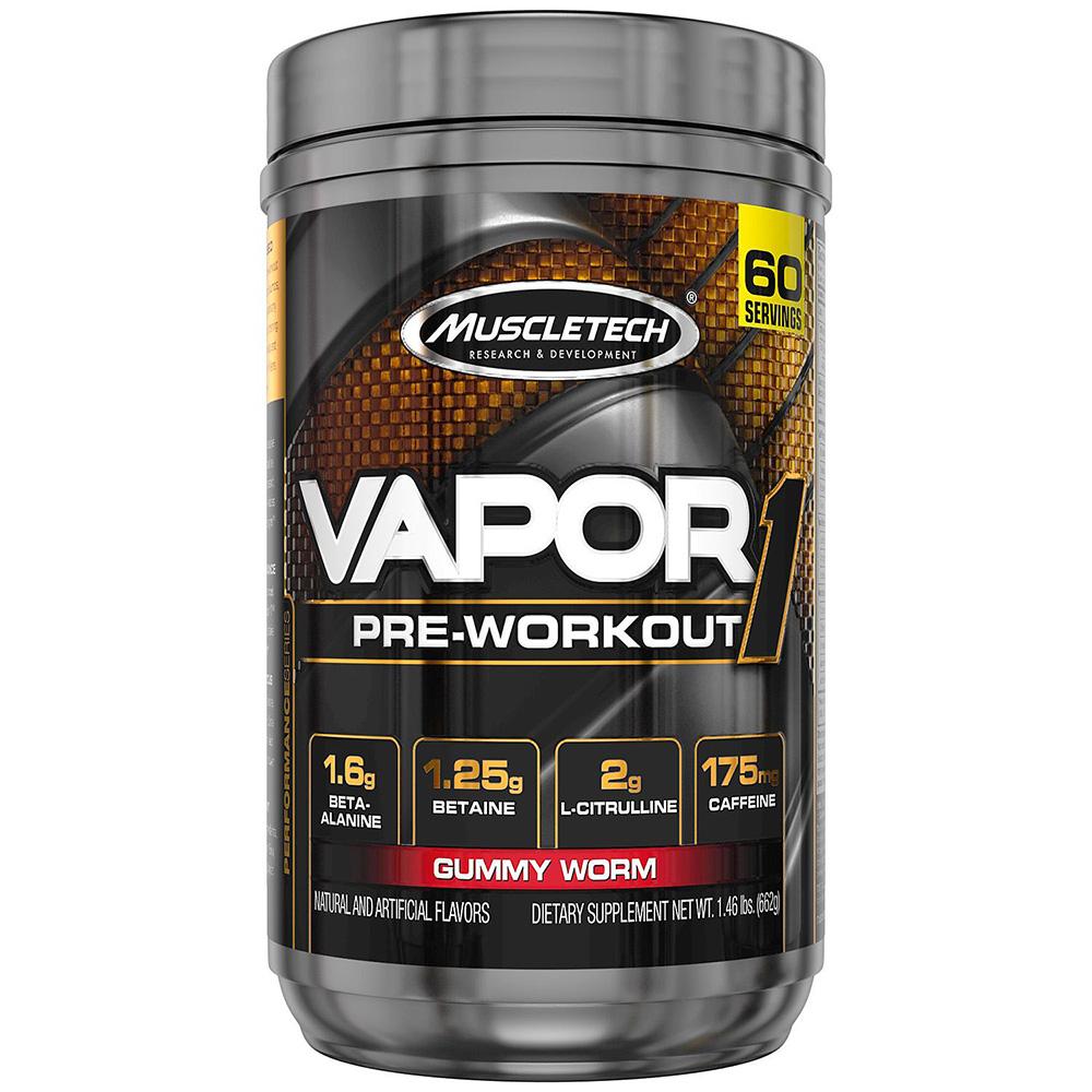 Muscletech Vapor 1 60 Serv Gummy Worm